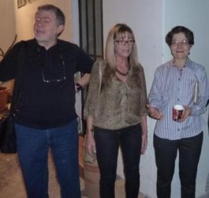 מימין לשמאל: סילביה, ציפי וחמי